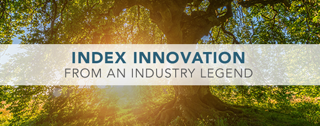 Index Innovation From An Industry Legend